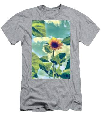 Men's T-Shirt (Athletic Fit) featuring the photograph Sunflower by Michael Goyberg
