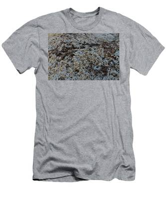 Men's T-Shirt (Athletic Fit) featuring the photograph Cemetery Clams by Michael Goyberg