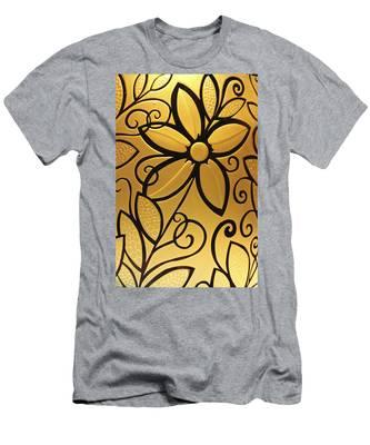 Goldenrod Men's T-Shirt (Athletic Fit)