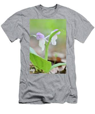 Showy Orchis Men's T-Shirt (Athletic Fit)