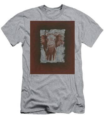 Elephant Men's T-Shirt (Athletic Fit)