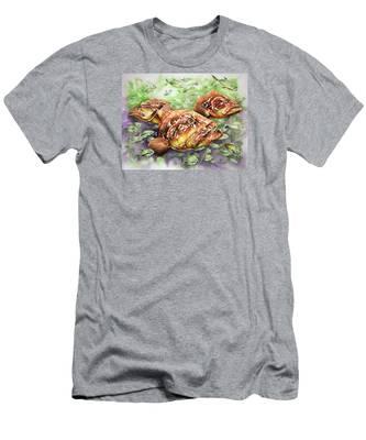 Fish Bowl Men's T-Shirt (Athletic Fit)