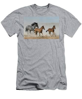 Out Of The Dust Men's T-Shirt (Athletic Fit)