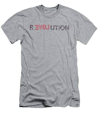 Men's T-Shirt (Athletic Fit) featuring the digital art Revolution by Bill Cannon