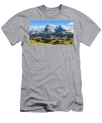 Sasso Lungo And Sasso Piatto Men's T-Shirt (Athletic Fit)