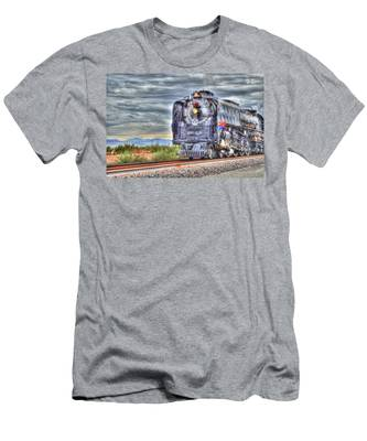 Steam Train No 844 Men's T-Shirt (Athletic Fit)