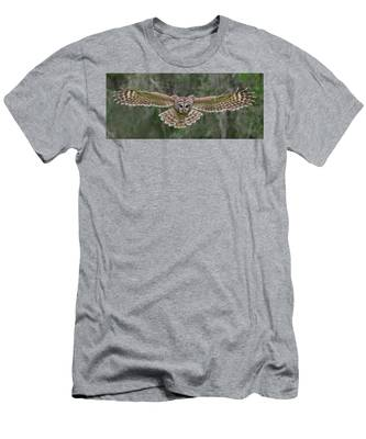 Men's T-Shirt (Athletic Fit) featuring the photograph The Approach. by Evelyn Garcia