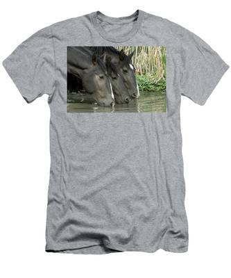 Black Beauties Men's T-Shirt (Athletic Fit)