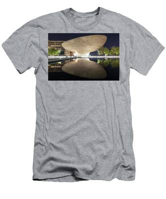 Men's T-Shirt (Athletic Fit) featuring the photograph Albany Egg by Brad Wenskoski