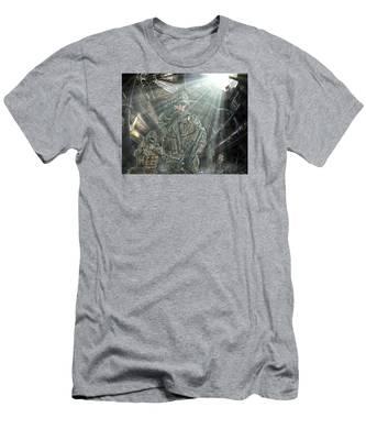American Patriots Men's T-Shirt (Athletic Fit)