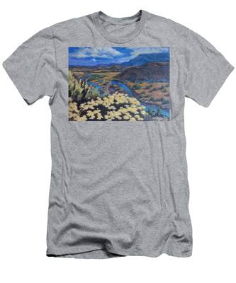 Another Day Above Rio Chama Men's T-Shirt (Athletic Fit)