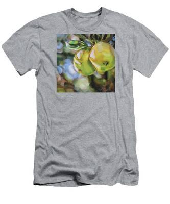 Apple Tree Men's T-Shirt (Athletic Fit)