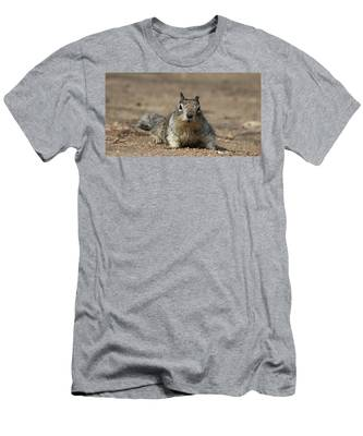 Men's T-Shirt (Athletic Fit) featuring the photograph Army Crawl  by Christy Pooschke