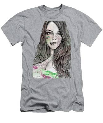 Pastel Portrait T-Shirts