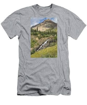 Basin Falls II Men's T-Shirt (Athletic Fit)