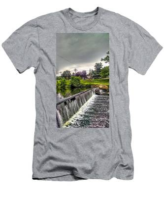 Boonton New Jersey Spillway Men's T-Shirt (Athletic Fit)