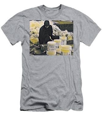 Boston Bucket Man Men's T-Shirt (Athletic Fit)