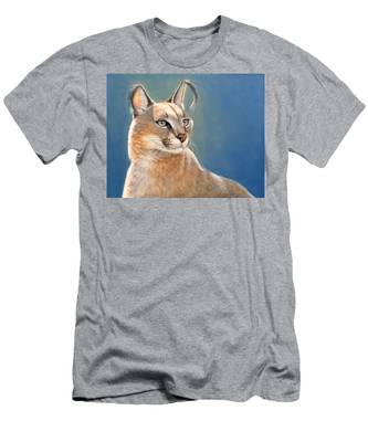Bright Eyes - Caracal Men's T-Shirt (Athletic Fit)