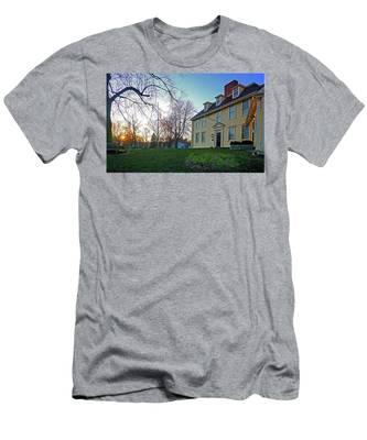 Buckman Tavern At Sunset Men's T-Shirt (Athletic Fit)