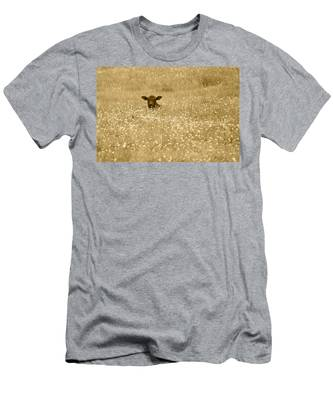 Buttercup In Sepia Men's T-Shirt (Athletic Fit)