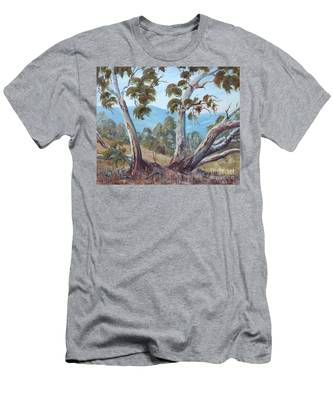 Canberra Hills Men's T-Shirt (Athletic Fit)