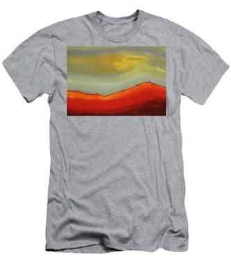 Canyon Outlandish Original Painting Men's T-Shirt (Athletic Fit)