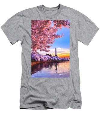 Cherry Blossom Festival  Men's T-Shirt (Athletic Fit)