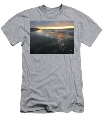 Colors Of A Storm At Sunrise Men's T-Shirt (Athletic Fit)