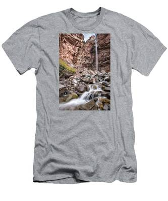 Cornet Falls Men's T-Shirt (Athletic Fit)