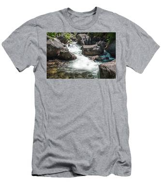 Easy Waters- Men's T-Shirt (Athletic Fit)