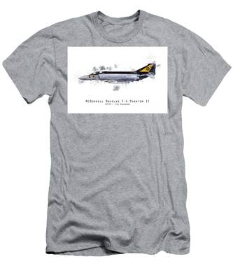 F-4 Phantom American Airpower Men`s Dark T-Shirt