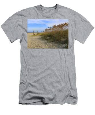 Fall Day On Tybee Island Men's T-Shirt (Athletic Fit)