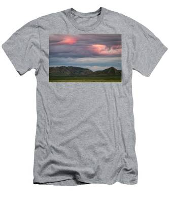 Glow In Clouds Men's T-Shirt (Athletic Fit)