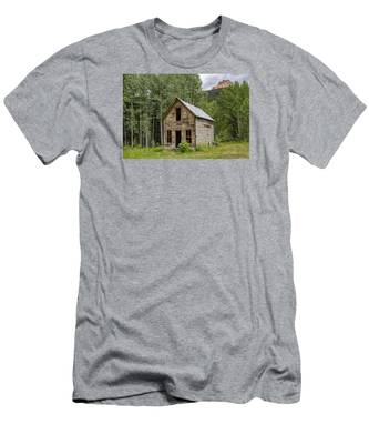 Ghost Town Schoolhouse Men's T-Shirt (Athletic Fit)