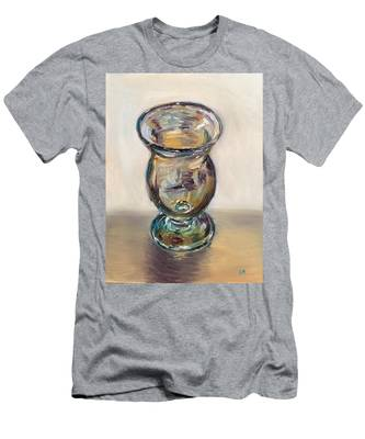 Glass Goblet Men's T-Shirt (Athletic Fit)
