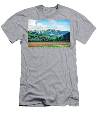 Green Mountains Men's T-Shirt (Athletic Fit)