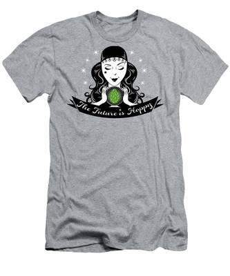 Hoppy Fortune Teller Men's T-Shirt (Athletic Fit)