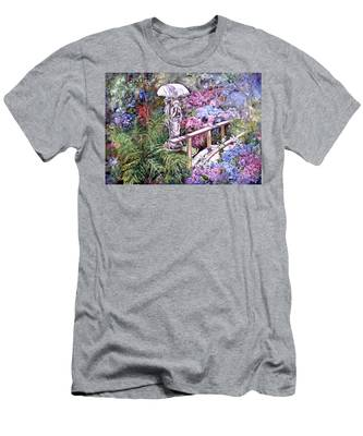 Hydrangea In The Formosa Gardens Men's T-Shirt (Athletic Fit)