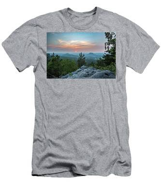 In The Land Of Mesas Men's T-Shirt (Athletic Fit)