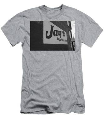 Jay's Department Store In Bw Men's T-Shirt (Athletic Fit)