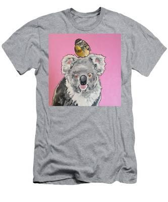 Kalman The Koala Men's T-Shirt (Athletic Fit)