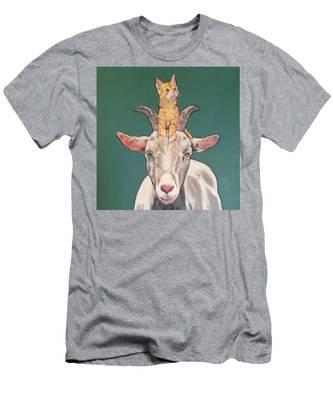 Keira The Kitten Men's T-Shirt (Athletic Fit)