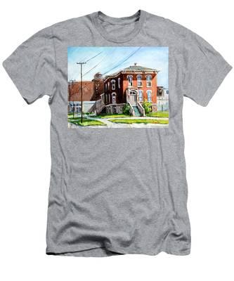 Last House Standing Men's T-Shirt (Athletic Fit)