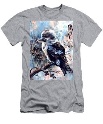 Laughing Kookaburra Men's T-Shirt (Athletic Fit)