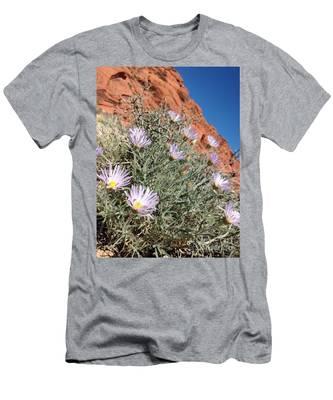 Lavender Drops Men's T-Shirt (Athletic Fit)