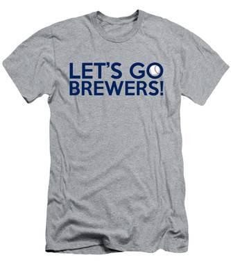 Let's Go Brewers Men's T-Shirt (Athletic Fit)