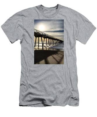 Light Of The Pier  Men's T-Shirt (Athletic Fit)
