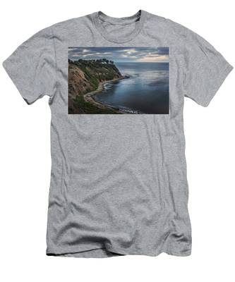 Men's T-Shirt (Athletic Fit) featuring the photograph Lunada Bay After Sunset by Andy Konieczny