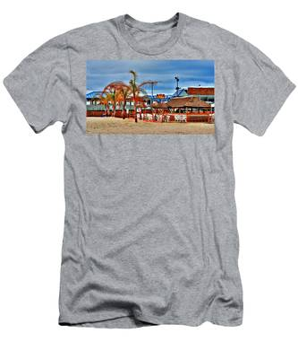 Martells On The Beach - Jersey Shore Men's T-Shirt (Athletic Fit)