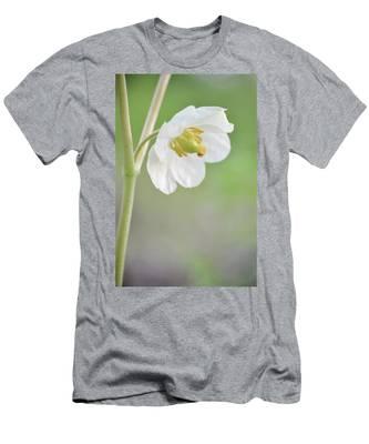 Mayapple Flower Men's T-Shirt (Athletic Fit)